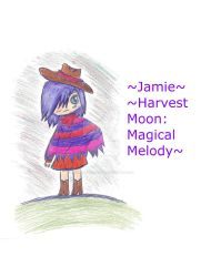 Jamie from Harvest Moon Magical Melody by YourForbiddenTruth