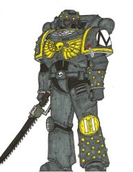 Tactical Marine, Brotherhood of a Thousand Chapter by terraluna5