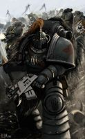 Pre Heresy Space Wolves by Ilqar
