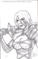 Convention Sketch Card4 by SavantGuarde