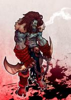Lobo Redesign by nanzotaro