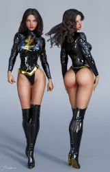 Character Reference Dark Mary Marvel v2 by tiangtam