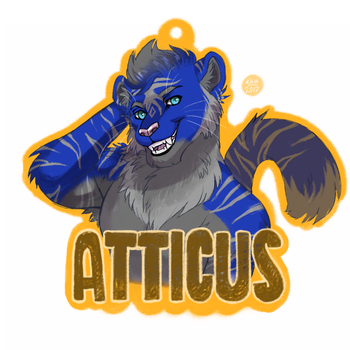 Atticus Frost Badge by cyber--hound