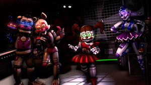 [SFM/FNAF/Sister Location] New time. by NikzonKrauser