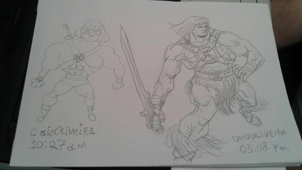 He-man by caiooliveira