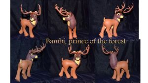 Bambi, prince of the forest by Soulren