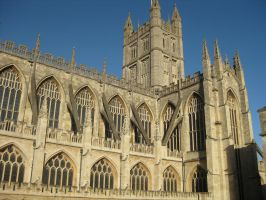 Bath Cathedral by TarJakArt