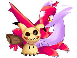 These two are my childen by MoonLatias08
