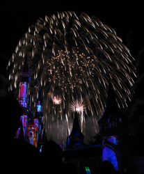 Castle Fireworks Show IMG 1120 by TheStockWarehouse