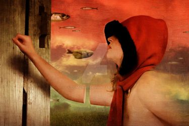 Red Riding Hood, Arrival by DomenLo