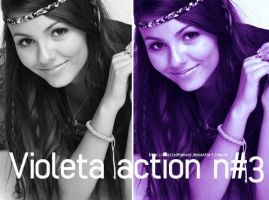 Violeta action 3 by osessedfamous