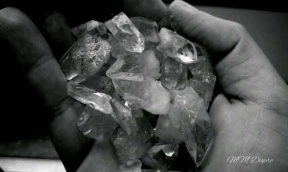 Handful of Crystals by amaranth333