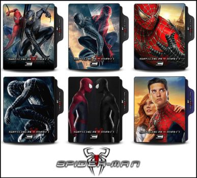 Spider-Man 3 (2007) Folder Icons by OnlyStyleMatters