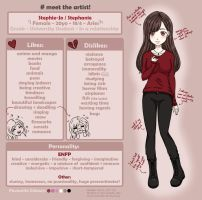Meet The Artist! by Stephie-Jo