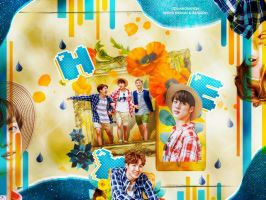 [COLLAB] BTS HEY with widya design by ranisoowhat