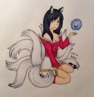 Ahri - League of Legends by SophienBandit