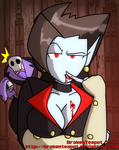Oh look, vampire cleavage by BrokenTeapot