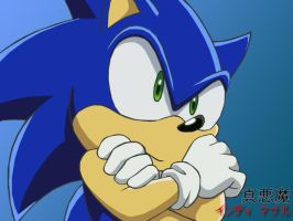 Sonic X by unreal-indy