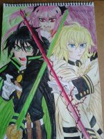 Seraph of the End by Laineyfantasy