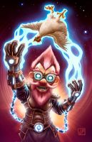 Gnomish Poultry Levitator by Truepinkas