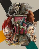 Dorohedoro by streetlets