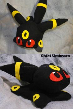Chibi Umbreon by threadsie