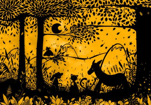 The four musicians of Bremen.. by HannahChapman