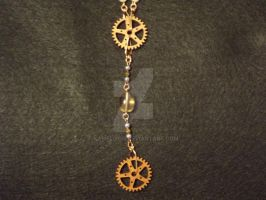 Steampunk Delight: Cogs/Gears and Chain by Kamellion