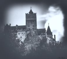 A legend:Dracula and Bran castel. by Phototubby