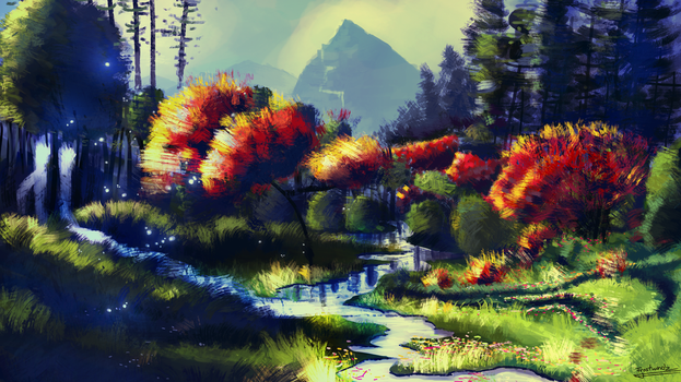 Enchanted Valley by Frostwindz