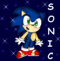 Lil' Sonic by PrettyKitty13