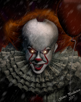 Pennywise -  IT 2017 by GamesProduction