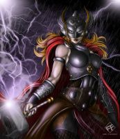 Jane Foster THOR by FF-STUDIO
