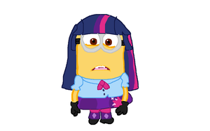Despicable Me - Minion Mlp Equestria Girls Dave by Dulcechica19