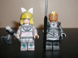 LEGO Fire Emblem Fates: Charlotte and Benny by TommySkywalker11