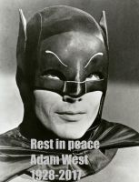 Adam West (1928-2017) by EgonEagle