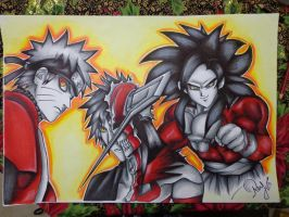 The Heroes of my Childhood The Draw O.o by SkullBoyThe