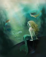 The Victims of Mermaids by justpottering