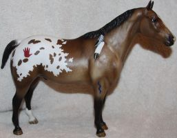 Breyer Chalky Version Indian Pony Stock 1 by Lovely-DreamCatcher