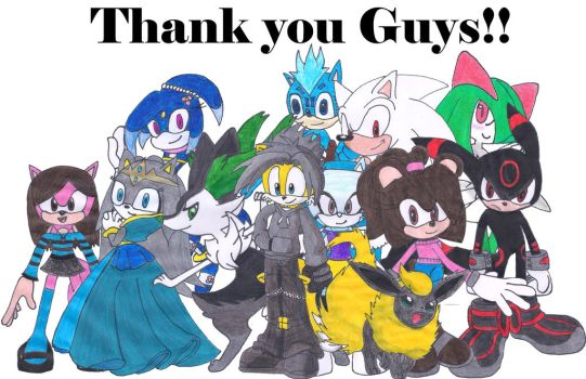 THANK YOU GUYS FOR THE 100 WATCHERS!! by Silverxtreme56