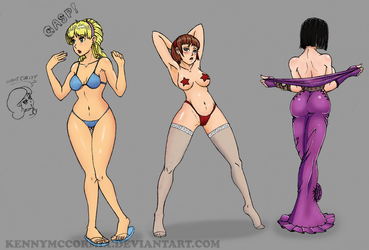 Practicing the Manga Female Edition by KennyMcCormix