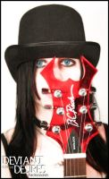 Shayna Eye For Metal by DeviantDesires