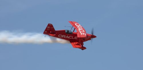 Oracle Stunt Plane by IntermissionNexus