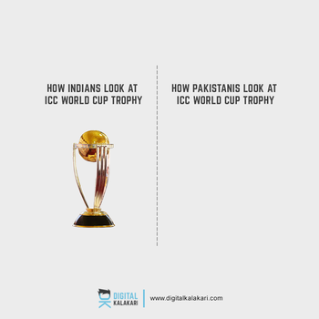 ICC World Cup | India vs Pakistan by digitalkalakari