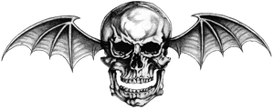 Avenged Sevenfold ~ Logo #1 (PNG) Deathbat by LightsInAugust