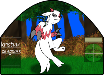 Kristian|male|zangoose by millemusen