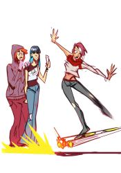 Hoverboard Follies by hungerartist