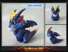 Baby Rain Dragon by LuisMonterieArt