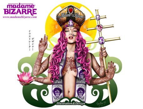 Corporate Image Madame Bizarre by madamebizarreartwork