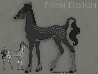 Jarrah x Eirlys fawn by mkayswritings